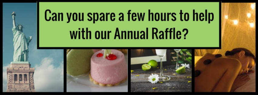 Can you spare a few hours to help with our Annual Raffle- (1)
